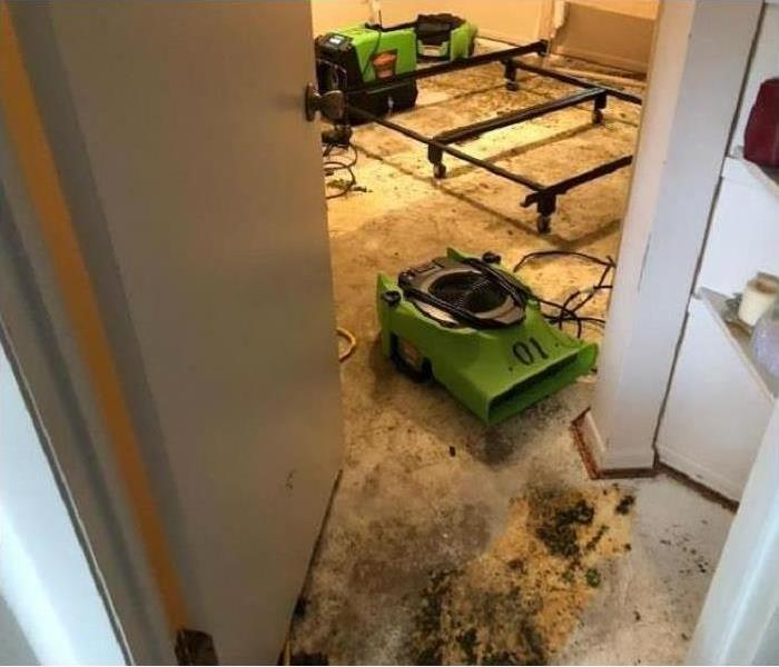Drying equipment SERVPRO of South Orlando uses